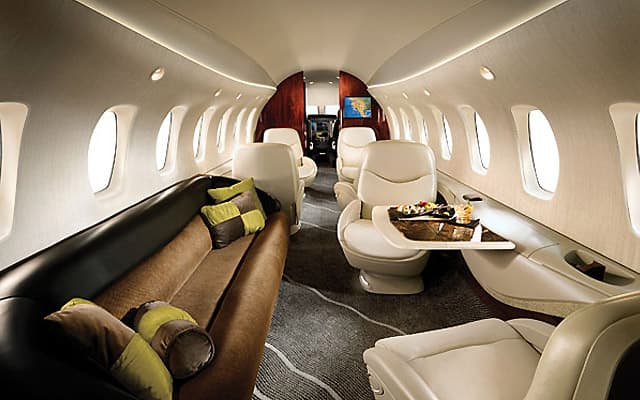 Cessna Citation X Interior