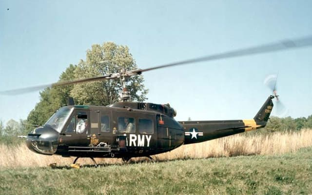 Huey Helicopter For Sale http://www.aircraftcompare.com/helicopter-airplane/Bell-UH-1H-Huey-2/198