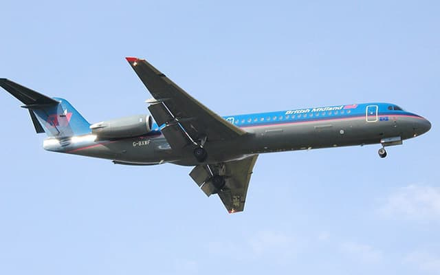 Fokker 100 Photo 2