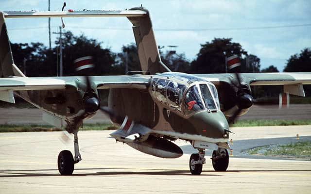 Rockwell OV-10 Bronco Photo 2