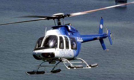 37 on bell 412 helicopter