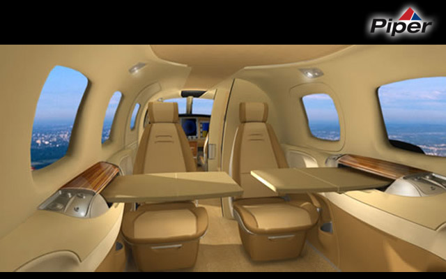 piper jet cabin interior photos piperjet gets bigger cabin